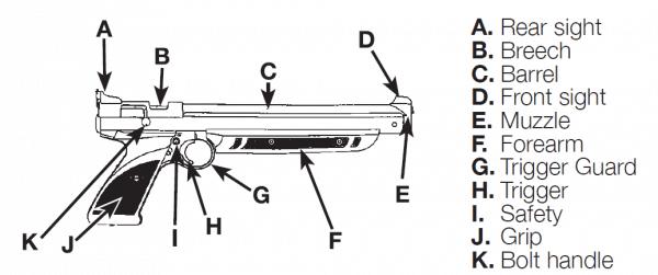 Pump Action! Crosman P1322 Air Pistol Review [Top Rated Pistol]