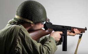 Thompson M1A1 Full-Metal Body AEG Airsoft Gun Review