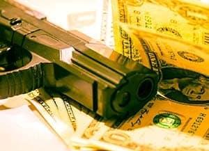 money-pistol