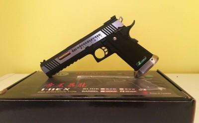 WE-Tech HI-CAPA Airsoft Pistol Review
