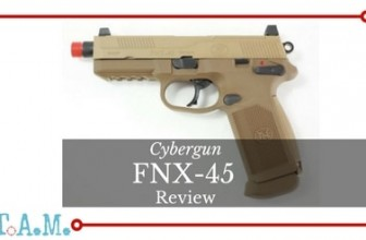 Nice Pistol! Cybergun FNX-45 Review [Gotta Have An Airsoft Sidearm]