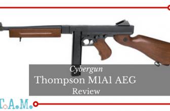 Cybergun Thompson M1A1 Full-Metal Body AEG Review