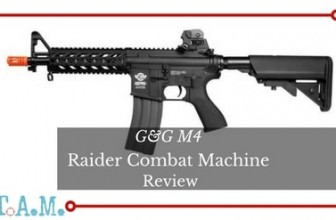 Good Starter. G&G M4 Raider Combat Machine Review [Easy To Build On]