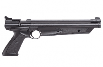 Pump Action! Crosman P1322 Air Pistol Review [Top Rated Pistol]